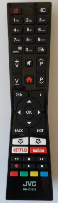RC/JVC/RM-C3331  ORIGINAL  REMOTE CONTROL,RM-C3331, for JVC LED TV