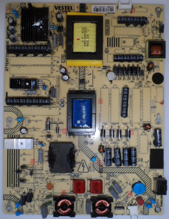 17IPS20/40INC/TOSH POWER BOARD ,17IPS20, for 40 inc DISPLAY ,23122636,27074013,040313R5,
