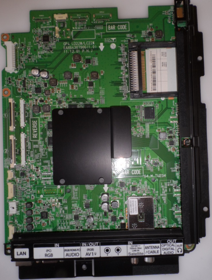 MB/LG/55LM670S MAIN BOARD  ,EAX64307906(1.0),EBT61565190, for, LG 55LM670S,