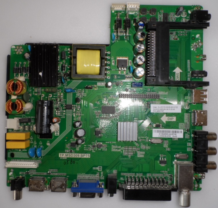 MB/TP.MSD309.BP75/BP/32M122 MAIN BOARD ,TP.MSD309.BP75,for BLAUPINKT BA32M122