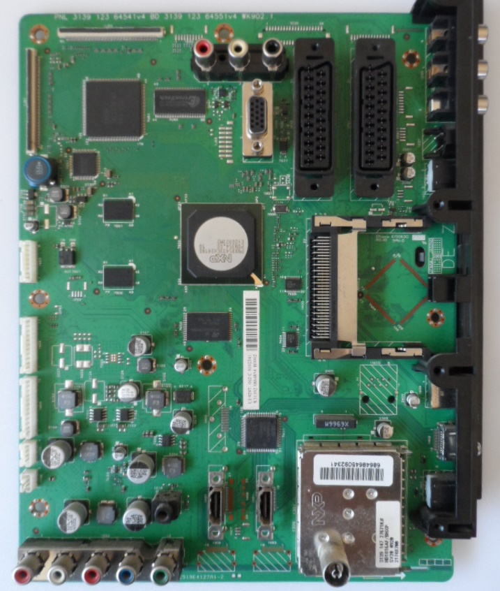 MB/32INC/PH/32PFL5624 MAIN BOARD ,3139 123 6454v4 BD 64551v4 WK902.1, for, PHILIPS 32PFL5624/12