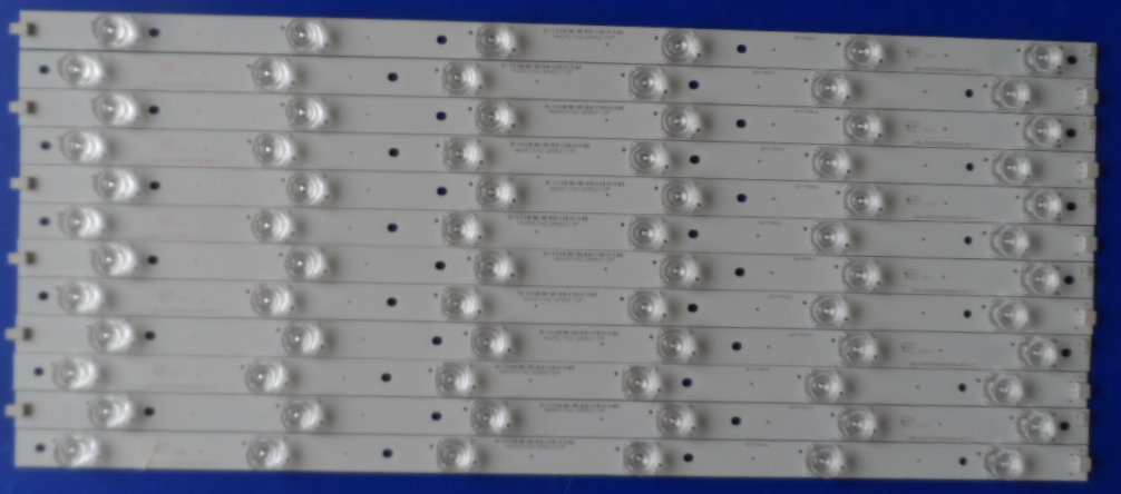 LB/55INC/SHARP/55CFE6242 LED BACKLAIHT  CRH-P5535350612L549-REV1.1B   CRH-P5535350612R549-REV1.1B