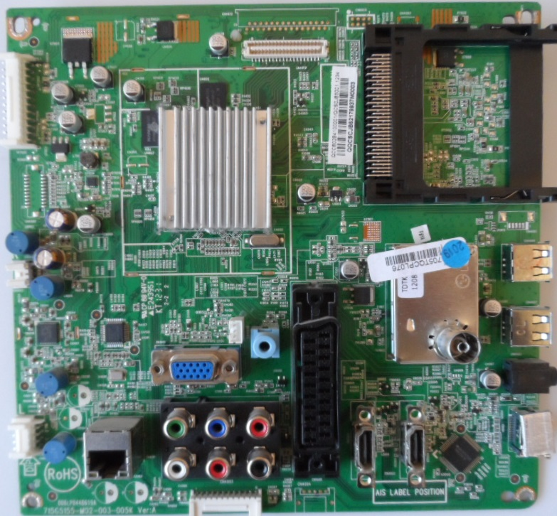 MB/32INC/PH/32PFL3807 MAIN BOARD ,715G5155-M02-003-005K, for, PHILIPS 32PFL3807H/12