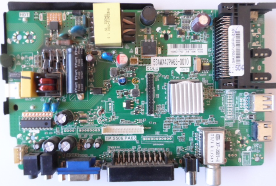 MB/TP.S506.PA63/SANG MAIN BOARD ,TP.S506.PA63, for ,SANG 24E100