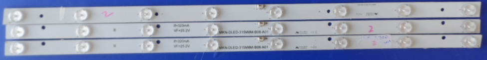 LB/32INC/CHINA/NN3 LED BACKLAIHT  MKN-DLED-315M8M-B08-A01 MKN-DLED315-08-V01 CHINA TV