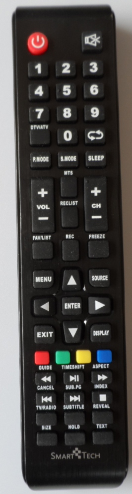 RC/SMT/32Z1 ORIGINAL REMOTE CONTROL for SmartTech LE-32Z1