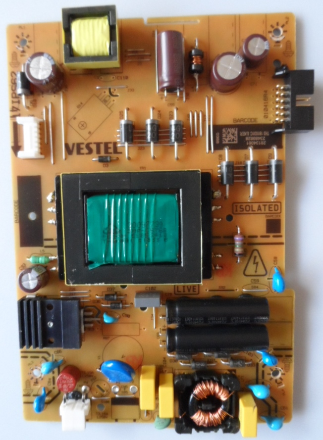 17IPS62/40INC/TOSH POWER BOARD, 17IPS62, for 40 inc DISPLAY ,28134061,23489828,010416R4,