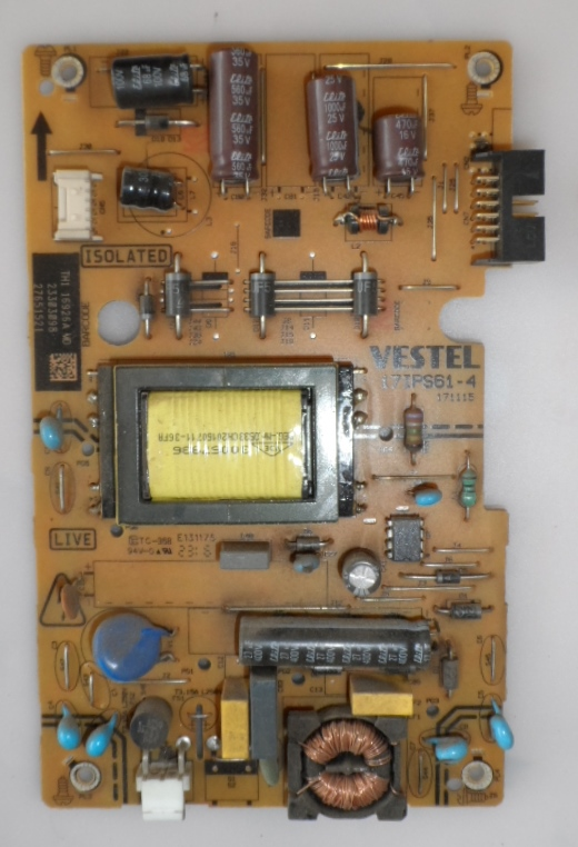 17IPS61-4/24INC/VES POWER BOARD ,17IPS61-4,171115