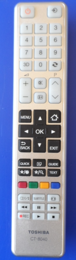 RC/CT8040/TOSH   ORIGINAL REMOTE CONTROL ,CT-8040, for ,TOSHIBA,