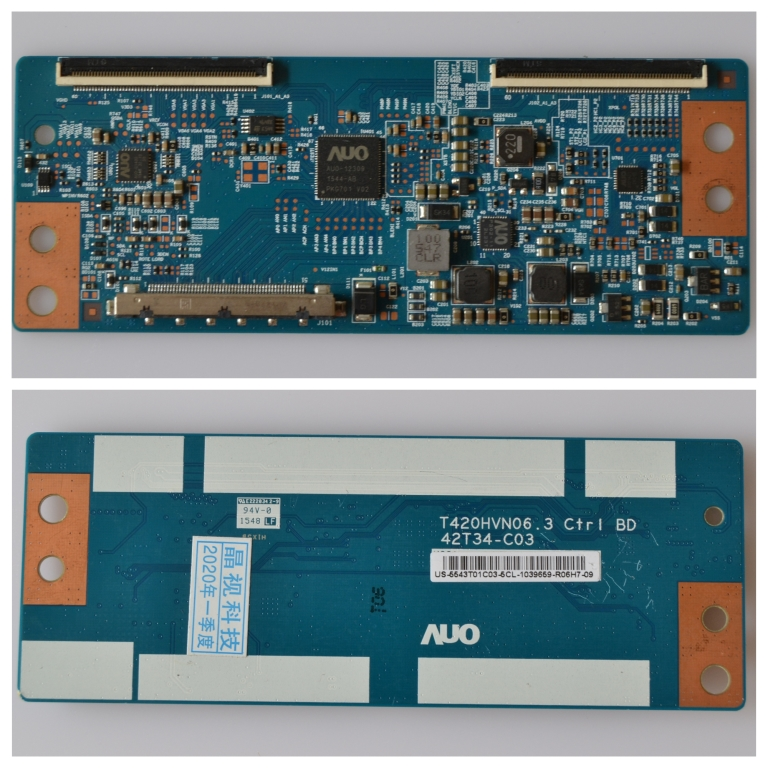 TCON/T420HVN06.3/AUO TCon BOARD ,T420HVN06.3,CTRL BD, 42T34-C03,