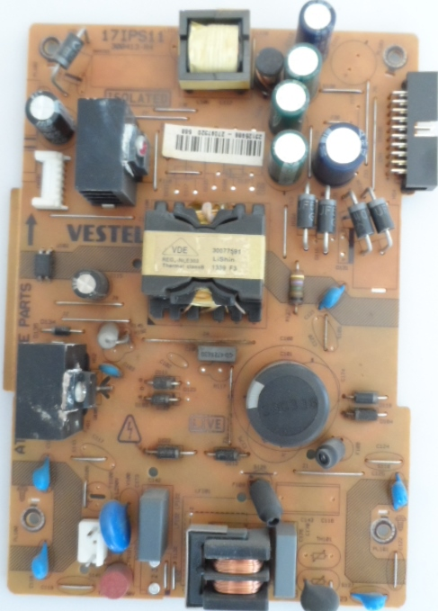 17IPS11/32INC/TOSH POWER BOARD ,17IPS11 ,300413-R4,23110481,27119554,