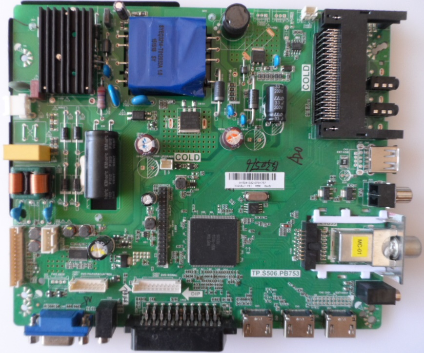 MB/TP.S506.PB753/32INC/JTC MAIN BOARD, TP.S506.PB753 , for 32 inc display