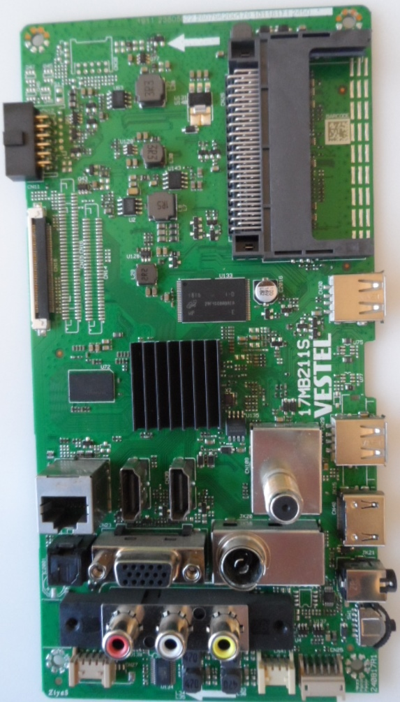 17MB211S/43INC/JVC MAIN BOARD ,17MB211 , for 43 inc DISPLAY ,1911,23505522,2807942000179,10118171,2450,240817R1,