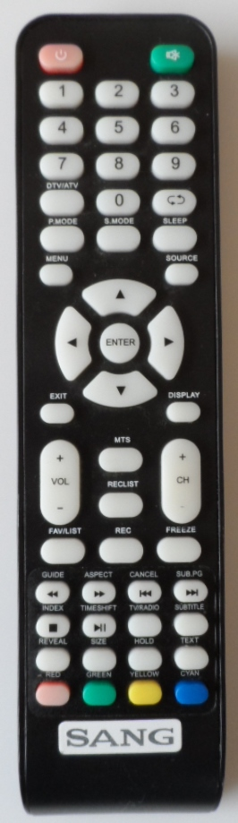 RC/SANG/2822 ORIGINAL REMOTE CONTROL for SANG LE-2822