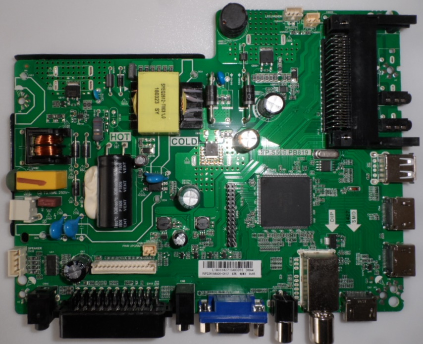 MB/TP.S506.PB819/SANG/32Z10 MAIN BOARD ,TP.S506.PB819,  for SANG LE-32Z10