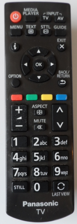 RC/N2QAYB/PAN/2  REMOTE CONTROL, N2QAYB000816, for ,PANASONIC ,