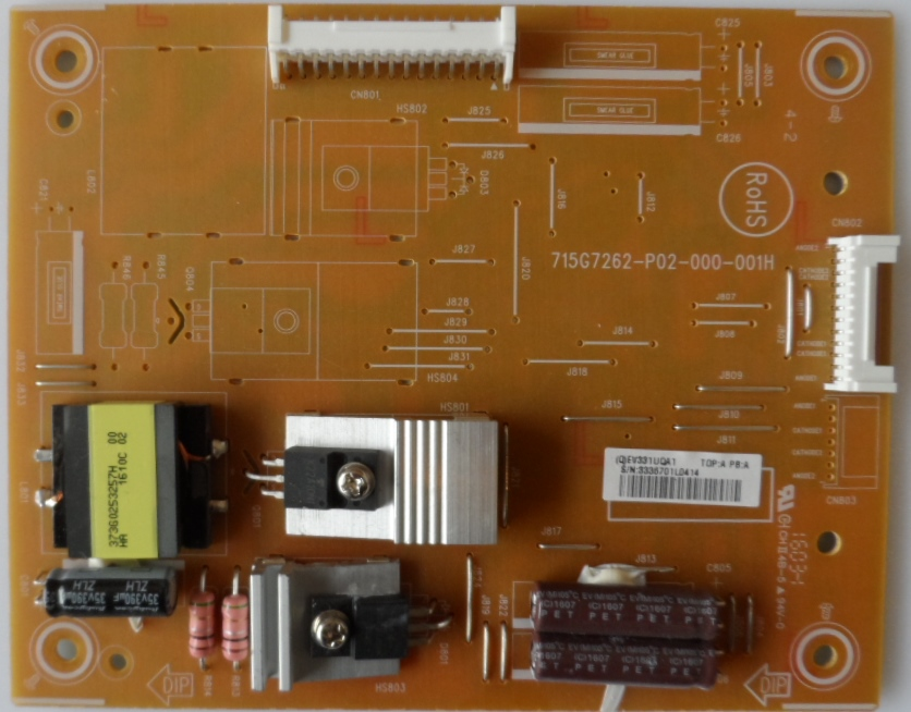 LD/43INC/PAN/43LFE8E LED DRIVER ,715G7262-P02-000-001H, for ,PANASONIC TX-43LFE8E,