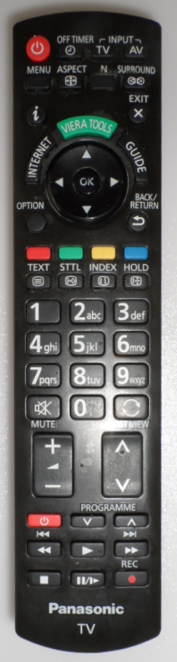 RC/N2QAYB/PAN/3  REMOTE CONTROL, N2QAYB000753, for ,PANASONIC ,