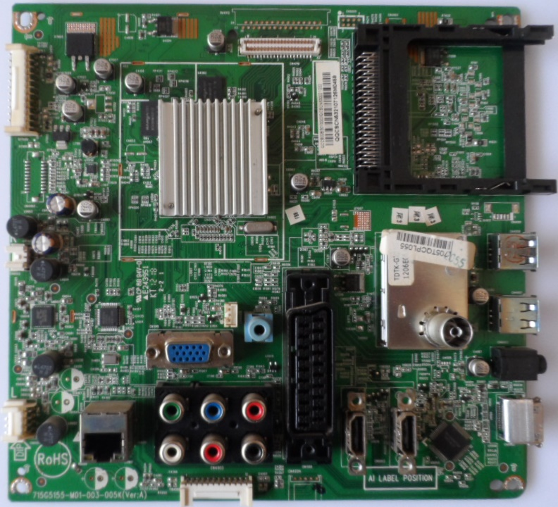 MB/42INC/PH/42PFL3507/1 MAIN BOARD ,715G5155-M01-003-005K,(Ver:A), for PHILIPS 42PFL3507K/12