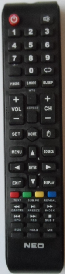 RC/NEO/4310  ORIGINAL  REMOTE CONTROL  for ,NEO LED-4310 FHD  SW ,