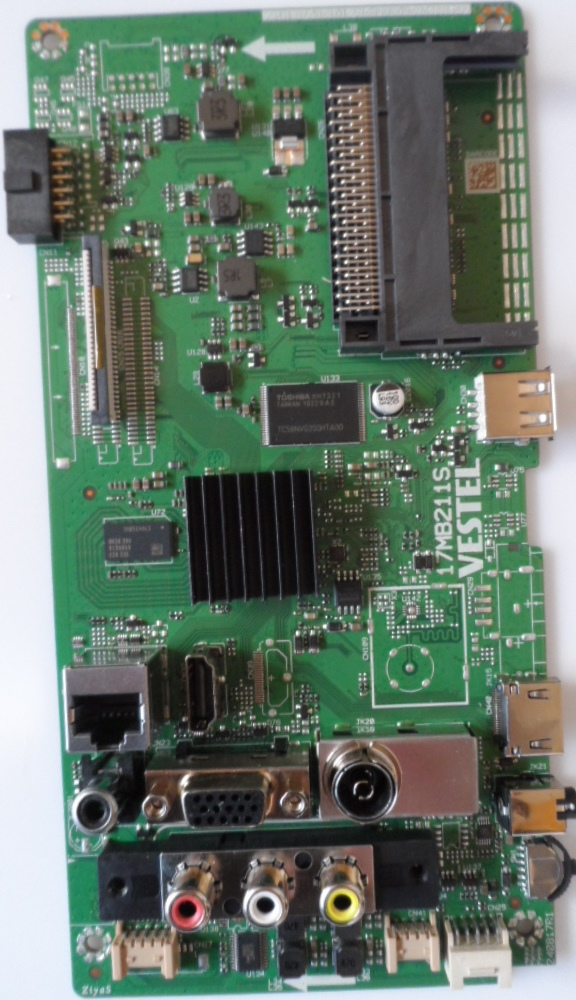 17MB211S/32INC/TFK MAIN BOARD ,17MB211 , for 32inc DISPLAY ,1909,23594198,282693050287,10120270,1942,240817R1,