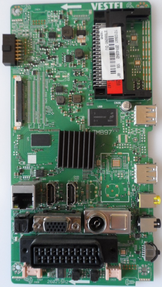 17MB97/48INC/FIN/FF4830 MAIN BOARD ,17MB97 , for 48inc DISPLAY ,10103441,23340342,27566290,260215R2,