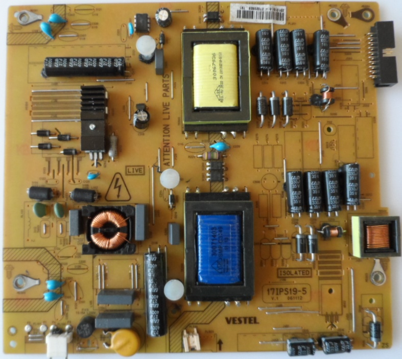 17IPS19-5/32INC/VES/20PIN/1 POWER BOARD ,17IPS19-5,V.1 061112 for 32inc DISPLAY ,2310516,27020628,