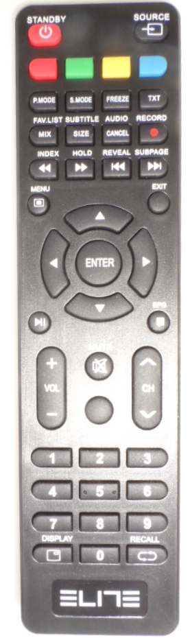 RC/ELITE/1 ORIGINAL REMOTE CONTROL  for, led tv ELITE,