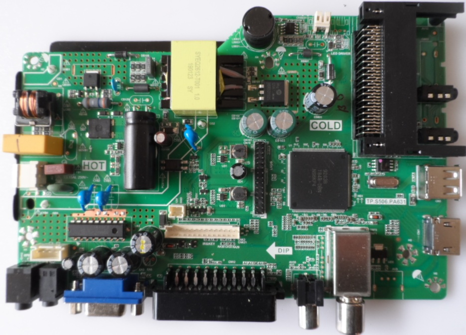 MB/TP.S506.PA631/22DM3500 MAIN BOARD ,TP.S506.PA631, for ,STARLIGHT 22DM3500