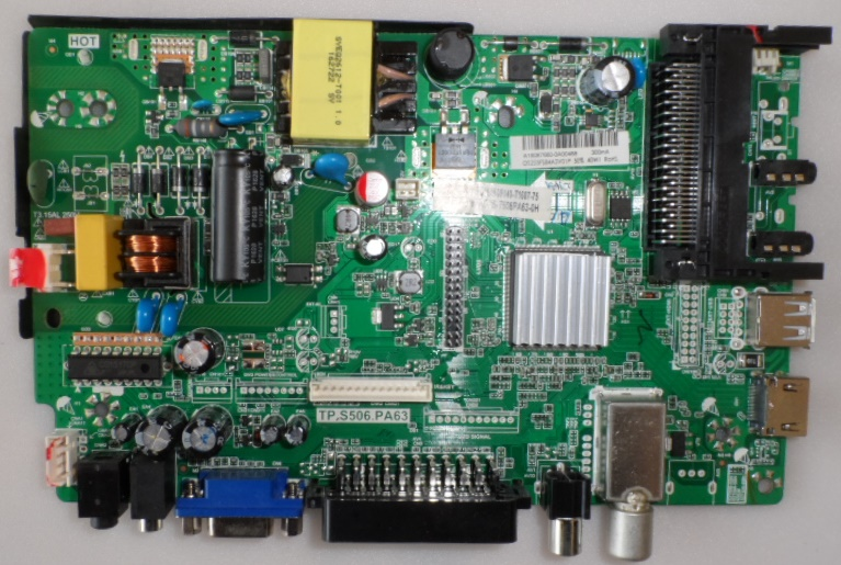 MB/TP.S506.PA63/TURBOX MAIN BOARD ,TP.S506.PA63, for ,TURBOX,TXV-2444D,