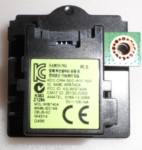 BT/BN96-30218B/SAM/48H6400 BLUETOOTH  MODULE ,BN96-30218B,WIBT40A, for ,SMSUNG ,UE48H6400,UE55H6500