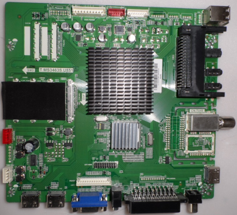 MB/T.MS3463S.U851/ARIELLI/55INC MAIN BOARD, TP.MS3463S.U851  for ,ARIELLI,LED-55DN4T2 SMART,
