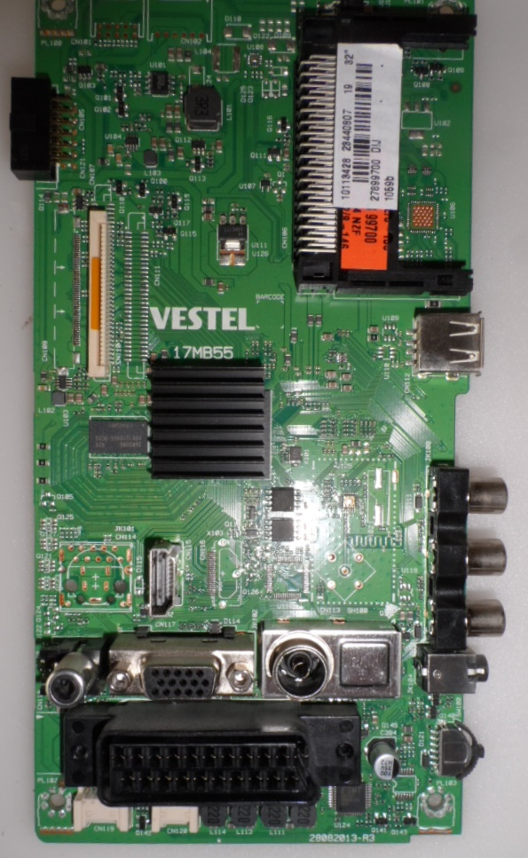 17MB55/32INC/NEO/32282 MAIN BOARD ,17MB55,  for 32 inc DISPLAY ,10111719,23440807,27857352,28082013-R3,