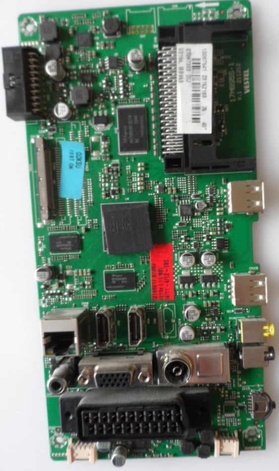 17MB95S-1/40INC/FINLUX MAIN BOARD, 17MB95S-1, for 40inc DISPLAY , 10087541,23152183,27087363,V.1 211212,
