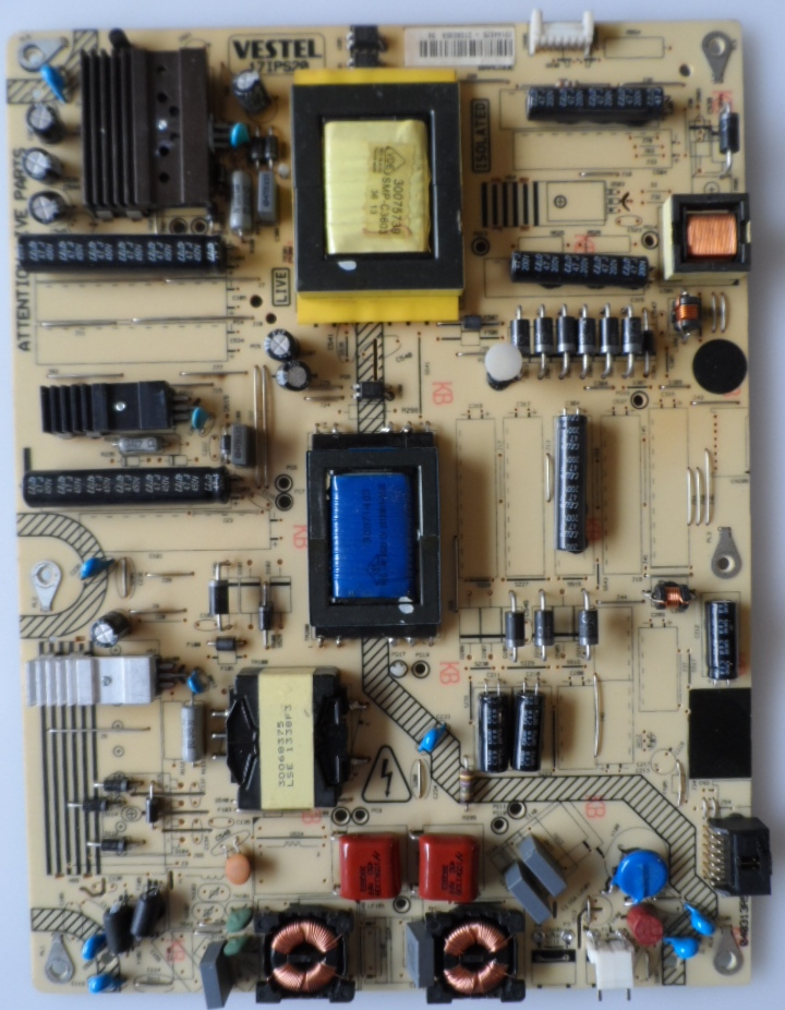17IPS20/40INC/FINLUX POWER BOARD ,17IPS20, for 40 inc DISPLAY, 23144072,27067372,040313R5,