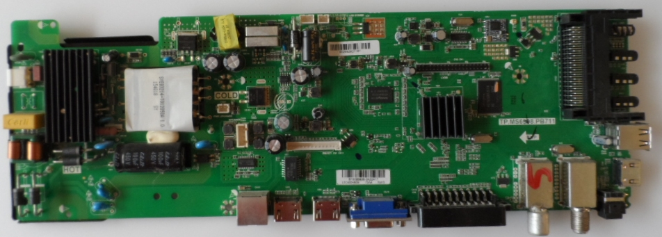 MB/TP.MS6308.PB711/SHARP/40CFE6242 MAIN BOARD TP.MS6308.711 for SHARP LC-40CFE6242E