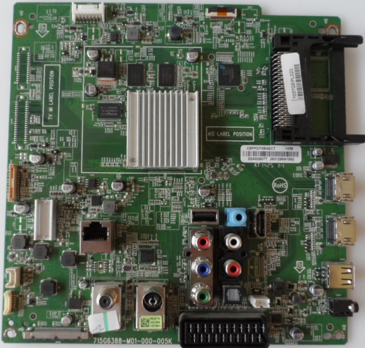 MB/40INC/PH/40PFS6719 MAIN BOARD ,715G-M01-000-005K, for PHILIPS 40PFS9719/12