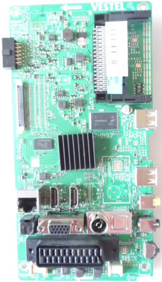 17MB97/40INC/HIT/40HBT42A MAIN BOARD ,17MB97 , for 40inc DISPLAY, 10100831,23310216,27599863,