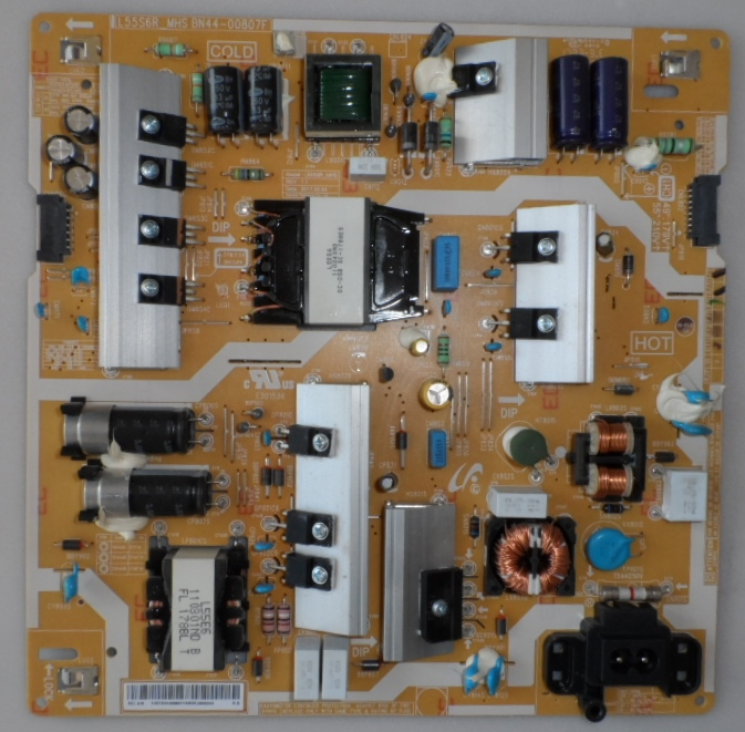 PB/BN44-00807F/SAM/55MU6202 POWER BOARD,BN44-00807F, L55S6R,for, SAMSUNG UE55MU6202,