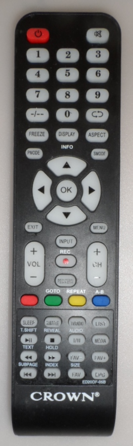 RC/CROWN/32K600   ORIGINAL REMOTE CONTROL ,ED20DF-05B for ,CROWN,32K600,