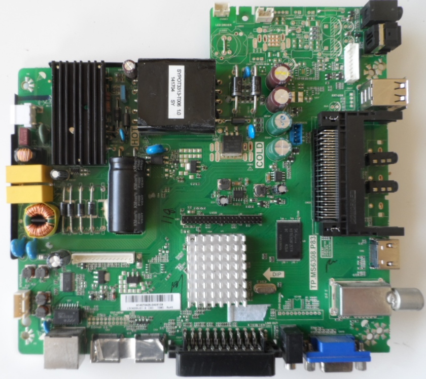 MB/TP.MS6308.P83/40INC/BP40M133 MAIN BOARD ,TP.MS6308.P83 ,for BLAUPUNKT BA40M133GBKPWE146