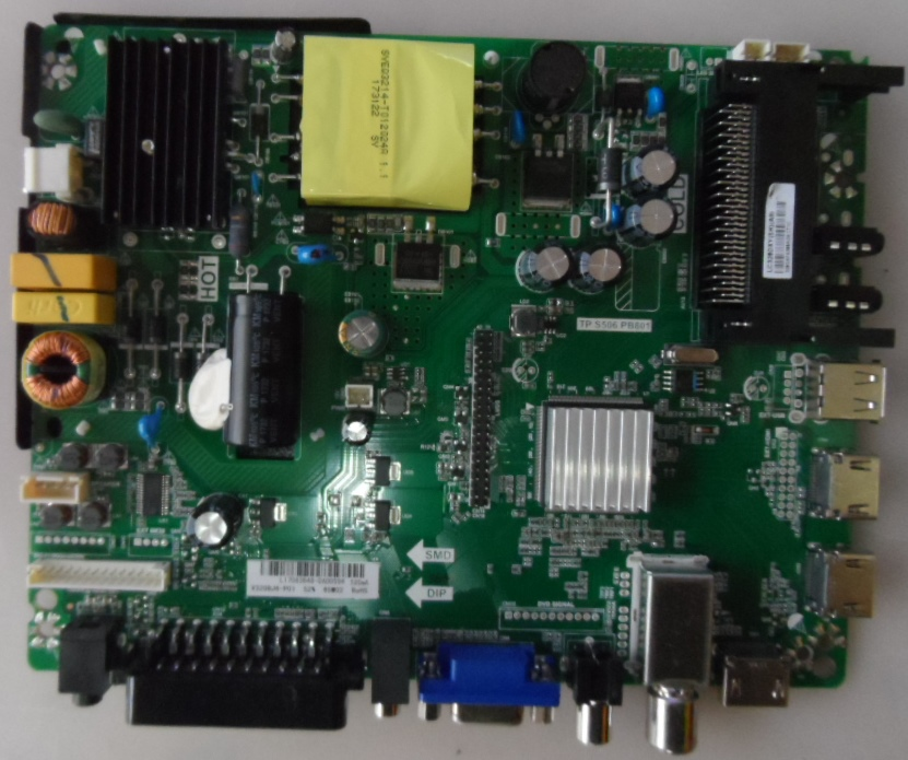 MB.TP.S506.PB801/ST.LIGH/32DM2200 MAIN BOARD ,TP.S506.PB801 , for STARLIGHT 32DM2200,