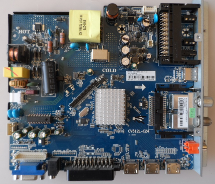 MB/CV512L-C24/24INC MAIN BOARD,CV512L-C24