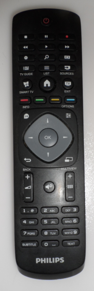 RC/PH/40PUS6809 ORIGINAL  REMOTE CONTROL  for PHILIPS TV 40PUS6809/12