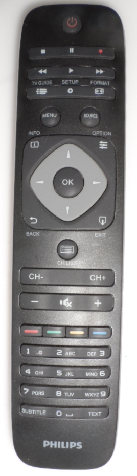 RC/PH/32PHT4001 ORIGINAL  REMOTE CONTROL  for PHILIPS TV ,32PHT4001/12