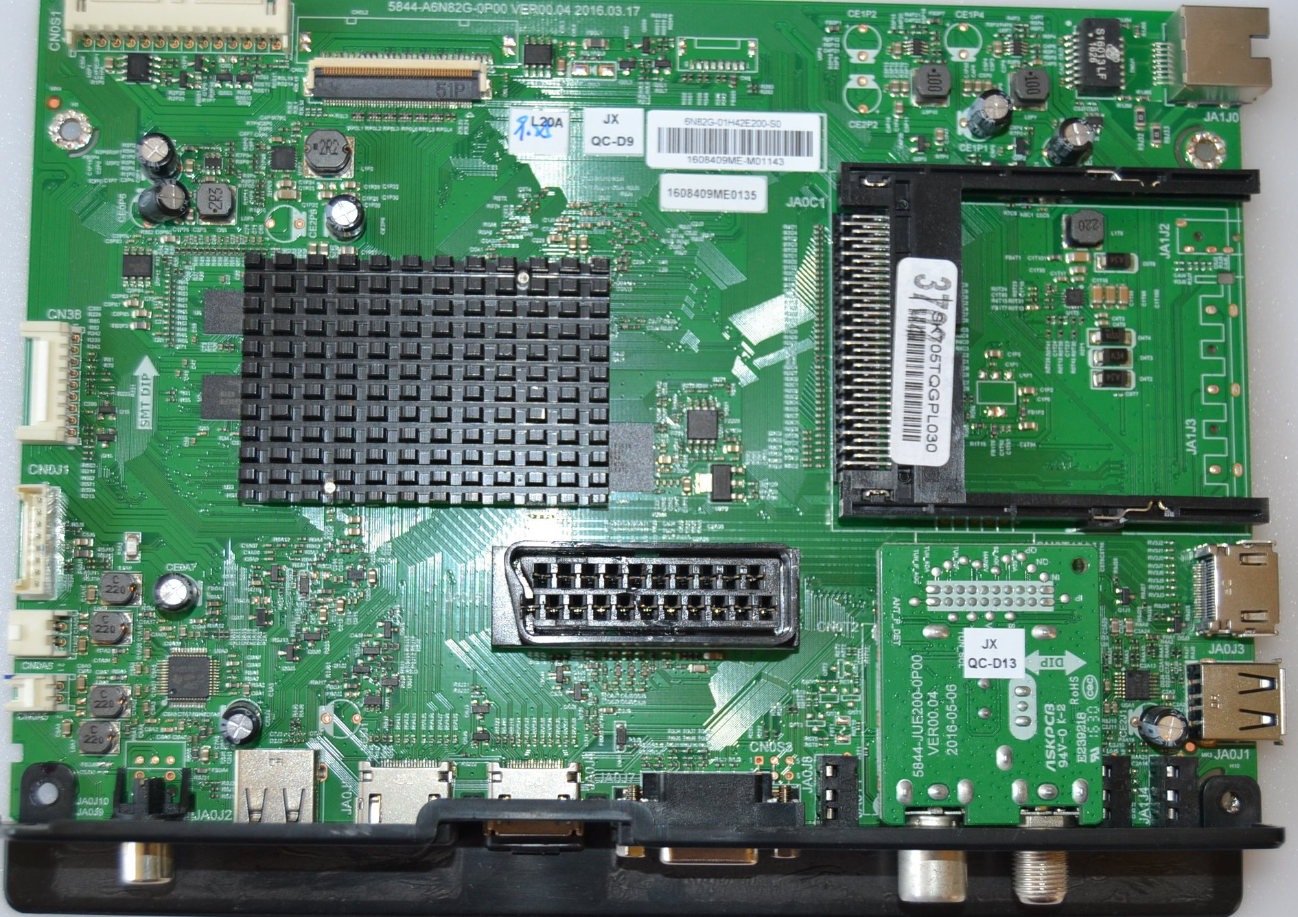MB/42INC/SKYWORTH MAIN BOARD ,5844-A6N82G-0P00, for SKYWORTH  42E2000S