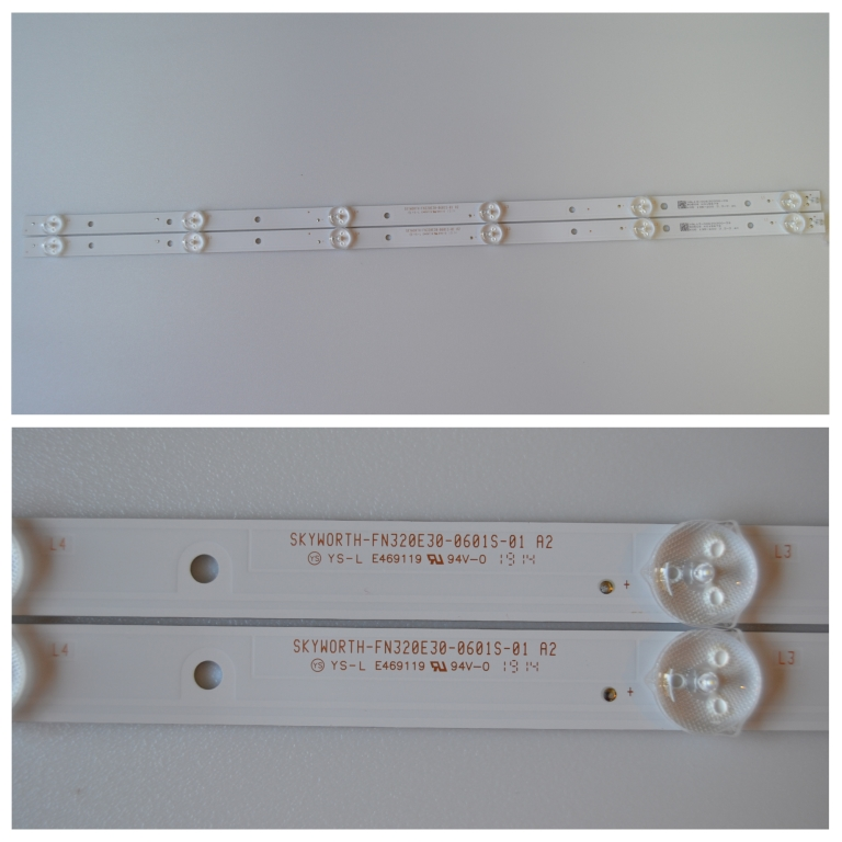 LB/32INC/CHINA/NN31 LED BACKLAIHT  ,SKYWORTH-FN320E30-0601S-01 A2,2X6 diod,3V,592mm,