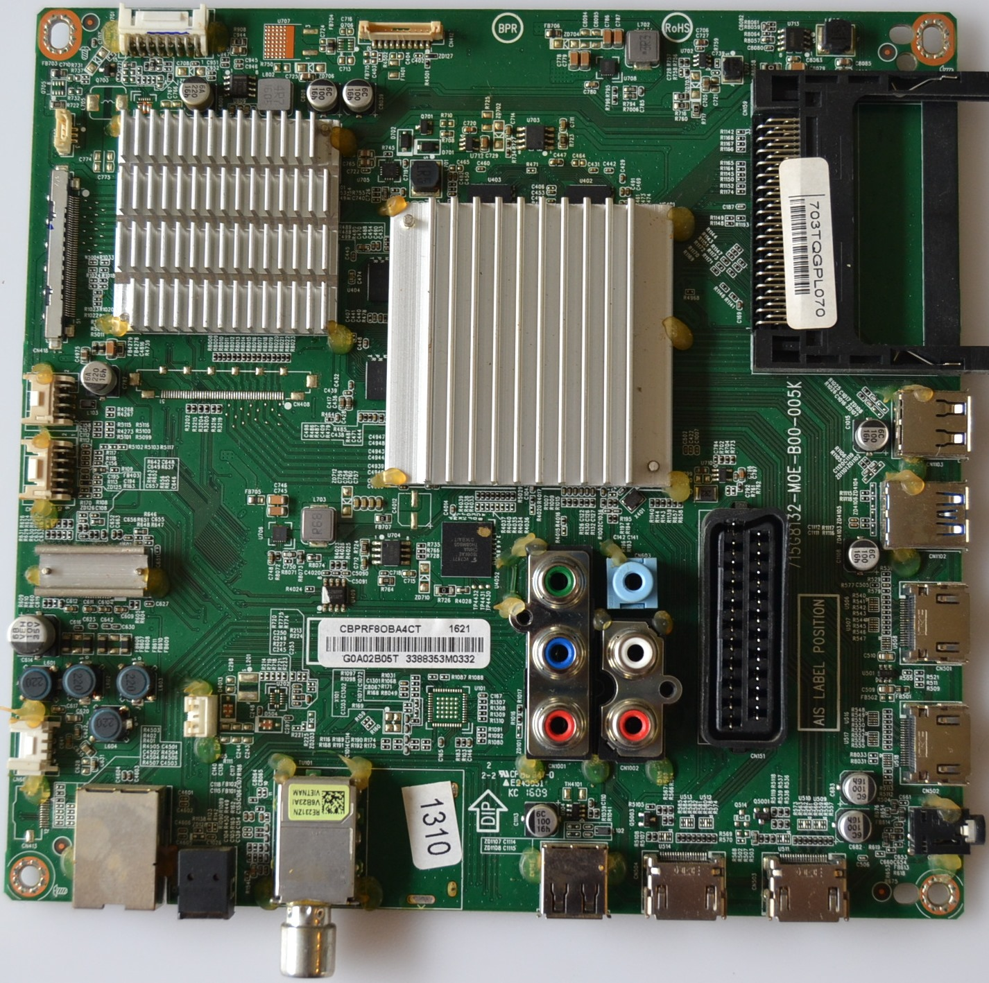 MB/55INC/PH/55PUH6101 MAIN BOARD ,715G8132-M0E-B00-005K, for PHILIPS 55PUH6101/88 UHD 4K