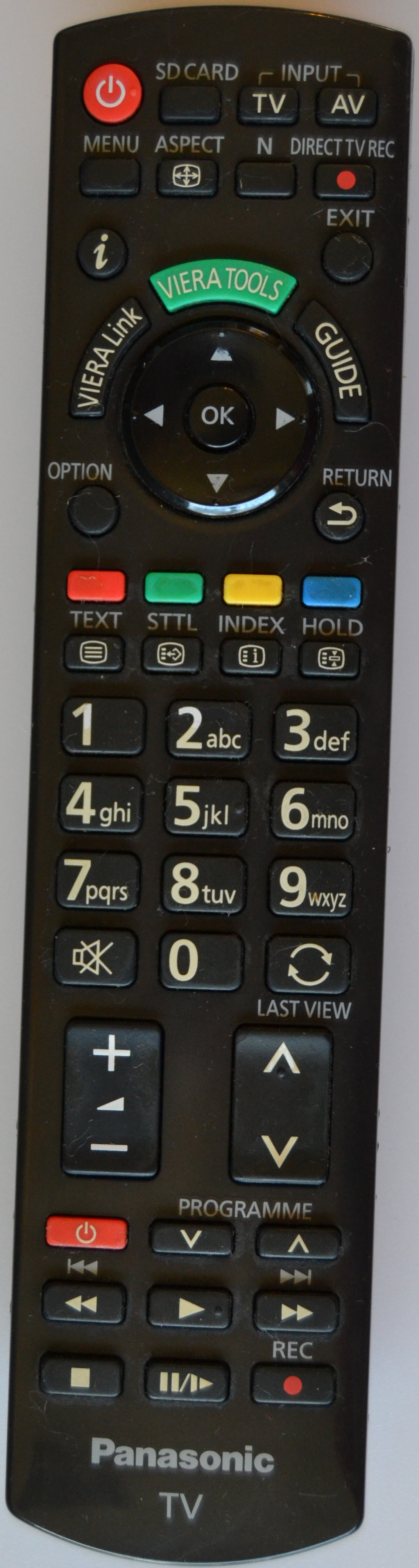 RC/N2QAYB/PAN/5  REMOTE CONTROL, N2QAYB000487, for ,PANASONIC ,
