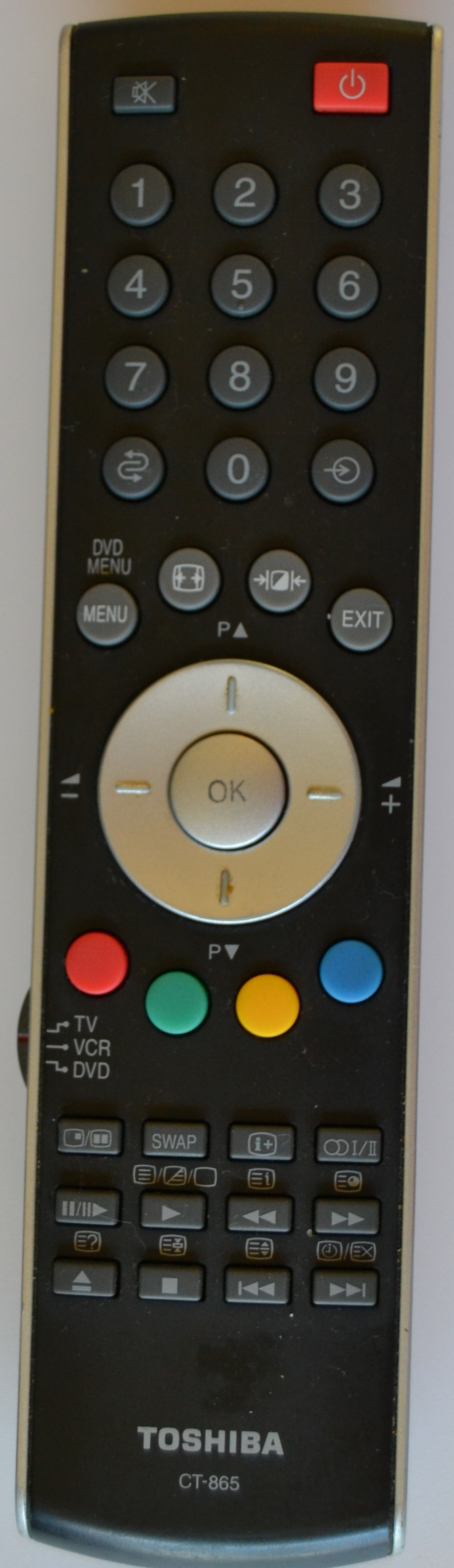 RC/TOSH/CT-856   ORIGINAL REMOTE CONTROL ,CT-856, for ,TOSHIBA LED TV,